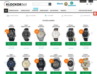 klockor365.se screenshot