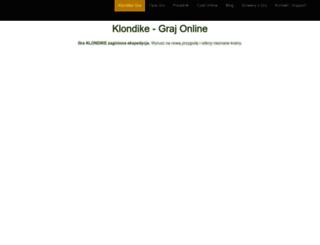 klondike.pl screenshot