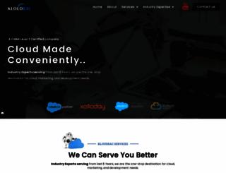 kloudrac.com screenshot