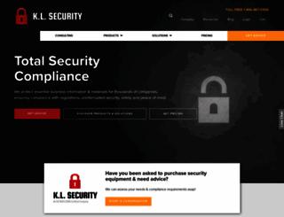 klsecurity.com screenshot