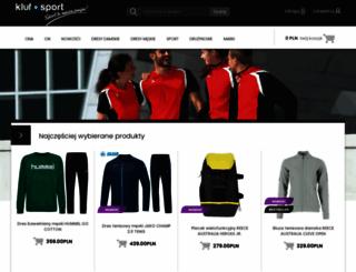 klufsport.pl screenshot