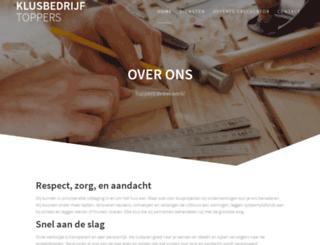 klusbedrijfdenhaag.nl screenshot