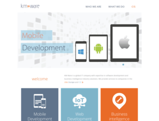 km-ware.com screenshot
