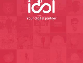 km.idol.io screenshot