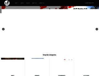 km8bicycle.com screenshot