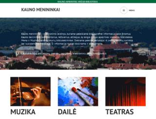 kmb.kvb.lt screenshot