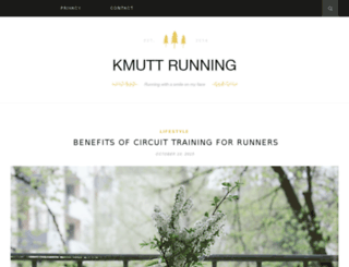 kmuttrunning.com screenshot