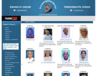 knanayaonline.com screenshot