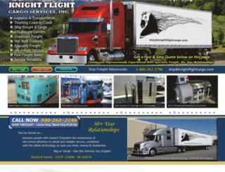 knightflightcargo.com screenshot