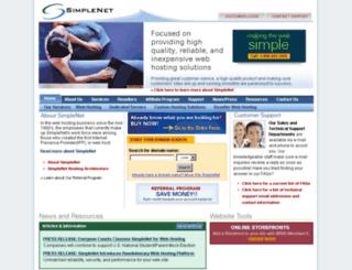 knightlite.simplenet.com screenshot