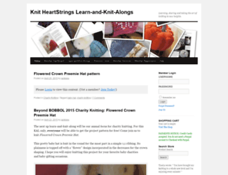 knitheartstrings.com screenshot