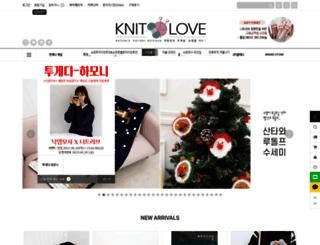 knitlove.co.kr screenshot