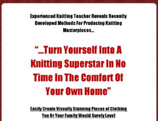 knittingsuperstar.com screenshot