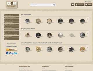 knopfparadies.de screenshot