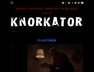 knorkator.de screenshot