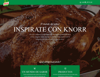 knorr.com.uy screenshot