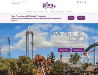 knotts.com screenshot