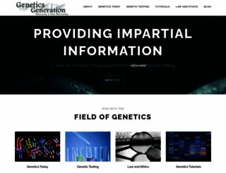 knowgenetics.org screenshot