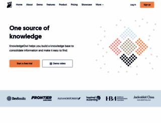 knowledgeowl.com screenshot