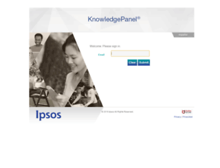 knowledgepanelrewards.com screenshot