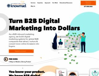 knowmad.com screenshot