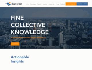 knowsis.com screenshot
