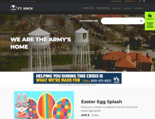 knox.armymwr.com screenshot