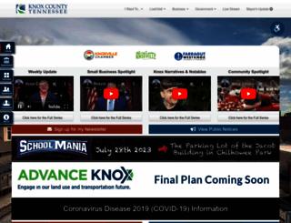 knoxcounty.org screenshot