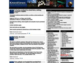 knoxviews.com screenshot