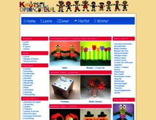 knutselopdrachten.nl screenshot