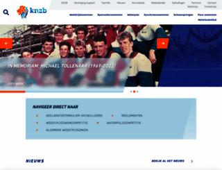knzb.nl screenshot