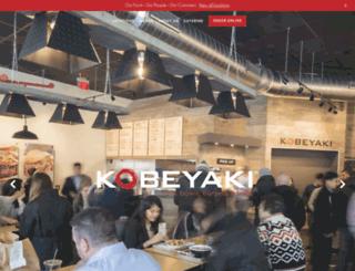 kobeyaki.com screenshot