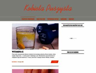 kobietapuszysta.pl screenshot