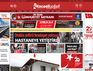 kocaeligazete.com screenshot