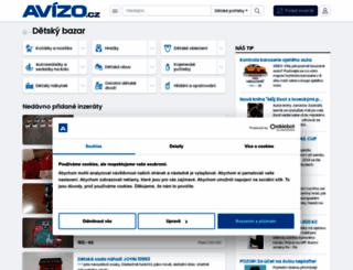 kocarky-hracky.avizo.cz screenshot