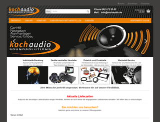 kochaudio.de screenshot