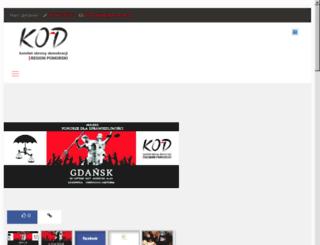 kod-pomorze.org screenshot