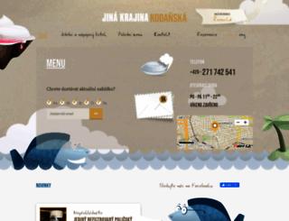 kodanska.jinakrajina.cz screenshot