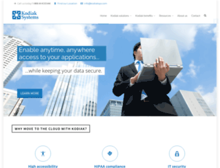 kodiaksys.com screenshot