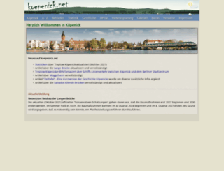 koepenick.net screenshot