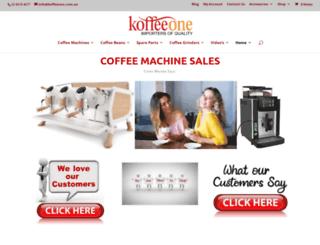 koffeeone.com screenshot