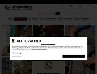 kofferworld.de screenshot