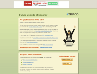 kogoroy.tripod.com screenshot
