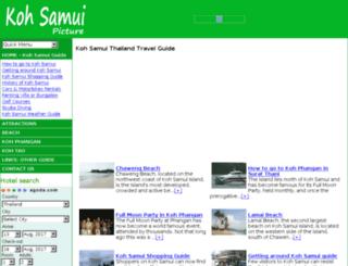 kohsamuipicture.com screenshot