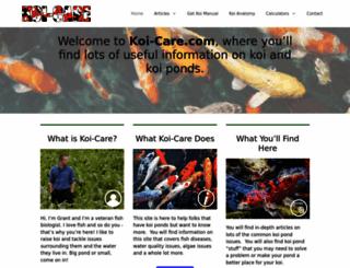 koi-care.com screenshot