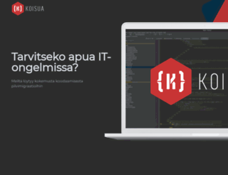 koisua.fi screenshot