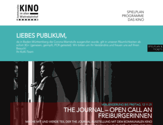 koki-freiburg.de screenshot