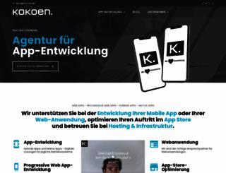 kokoen.net screenshot