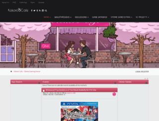 kokoro-cafe.net screenshot