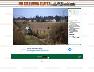 kolejowaklatka.org screenshot